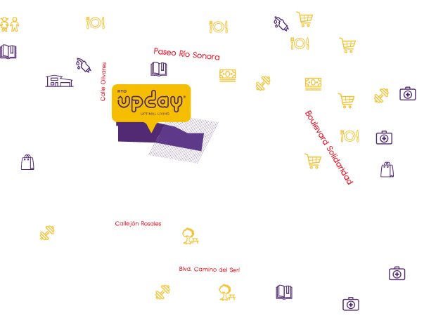 Mapa Kyo Upday
