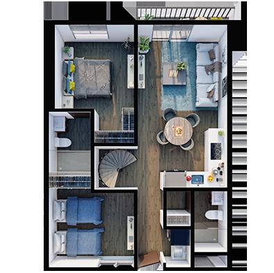 Modelo Penthouse A